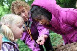 Forest school nursery near Maidenhead