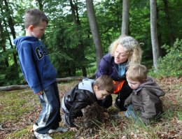 Cookham, Berks, forest school nursery