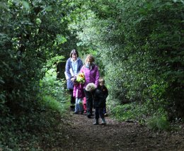 Forest school walk