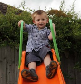 Maidenhead child on slide
